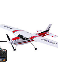 RTF Skyartec RC Airplane Mini Cessna 1:10 2.4GHz Brushless Electric Motor Ready-to-Fly EPO Red/Blue (3G3X Version) (MNCE3X-01)