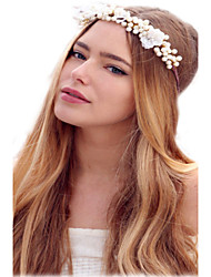 wedding headband, cream headband, bridal headpiece, wedding headpiece, boho hair accessories flower headband
