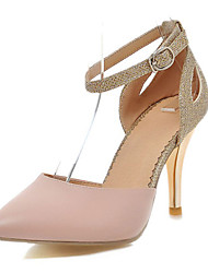 Women's Shoes Glitter/Stiletto Heel/D'Orsay & Two-Piece/Pointed Toe Heels Party & Evening/Dress Blue/Pink