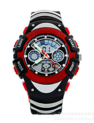 Sports Watch Kids' LCD / Calendar / Chronograph / Water Resistant / Dual Time Zones / Sport Watch Digital Digital