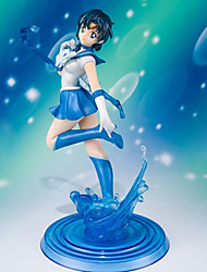 Sailor Moon Sailor Mercury 19CM Anime Action-Figuren Modell Spielzeug Puppe Spielzeug