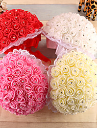 "Wedding Flowers Round Roses Bouquets Wedding Foam 8.66""(Approx.22cm)"