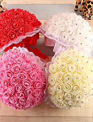 """Bouquets de Noiva Redondo Rosas Buquês Casamento Espuma 8.66""""(Aprox.22cm)"""