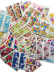 50pcs/lot Nail Art Sticker Water Transfer Decals Nail Art Design