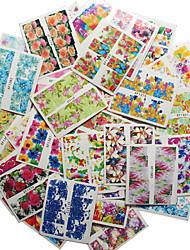 50PCS Nail Sticker Art Autocollants de transfert de l'eau Maquillage cosmétique Nail Art Design