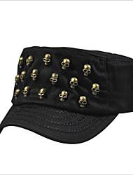 Europe Tide Skull Rivet Hat