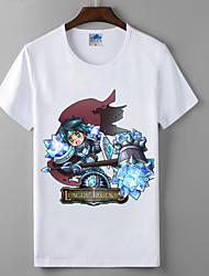 лол лига легенд коллекция драгоценных серии косплей футболки герои союза хлопок лайкра