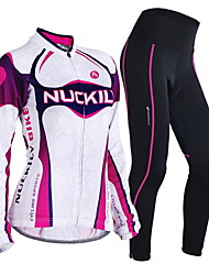 NUCKILY Bike/Cycling Arm Warmers / Jersey + Pants/Jersey+Tights / Clothing Sets/Suits Women's / Men's Long SleeveBreathable / Insulated /