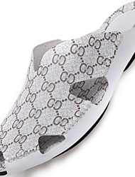 Men's Shoes Outdoor / Office & Career / Work & Duty / Athletic / Dress / Casual Nappa Leather Slippers White