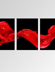 Абстракция / фантазия / Отдых / Пейзаж / Фото / Модерн / Романтика / Поп-арт Холст для печати 3 панели Готовы повесить,Горизонтальная