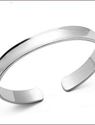 Bracelet Manchettes Bracelets Plaqué argent Mariage Bijoux Cadeau Argent,1pc