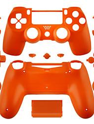 Case Part Skin Cover for PS4 Controller (Orange/Purple/Pink/Transparent)