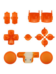 Replacement Controller Case Assembly Kit Set for PS3 Orange/Purple/Pink