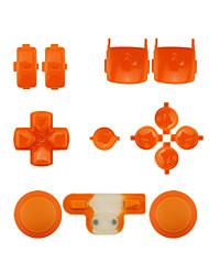 Контроллер замена комплект кейс сборка Комплект для PS3 оранжевый / фиолетовый / розовый