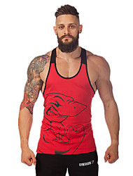 Men's Sleeveless Running Vest/Gilet Tank Tops Breathable Quick Dry High Breathability (>15,001g) Sweat-wicking Sports WearExercise &