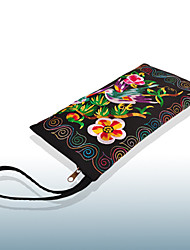 Women Canvas Casual Clutch Wallet / Mobile Phone Bag-Multi-color
