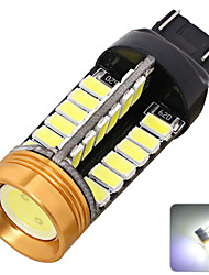 2pcs 12v t20 50w peut-bus 3528 48smd conduit voiture lampe led frein lampe voiture de queue