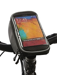 ROSWHEEL® Bike Bag 1LBike Handlebar Bag Waterproof / Quick Dry / Rain-Proof Bicycle Bag Nylon / Oxford / Terylene Cycle BagIphone 5/5S /