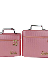Women PU Professioanl Use Cosmetic Bag Pink / Purple / Blue / Gold / Black / Burgundy / Champagne