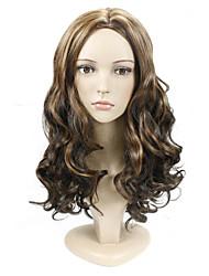 моды природные золотые волны высокого качества синтетических волос