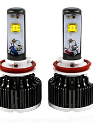 2PC 30W 2012-2013Year 730i 740i 750i 760i Car LED HeadLight Bulbs H8 Car Low Beam LED Headlight Bulb