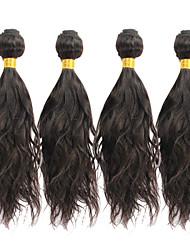 venta caliente 8-30inch onda peruana virginal del pelo natural, mojado y ondulado cabello tejido peruano Paquetes de las extensiones hhair