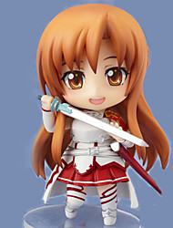 Sword Art Online Asuna Yuuki Change Picture 9.5CM POP Doll Anime Action Figures Model Toy
