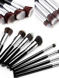 8pcs Makeup Brushes Set / Eyeshadow Brush / Blush Brush / Powder Brush Nylon Face / Eye