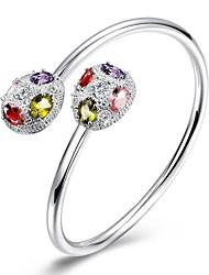 Bracelet Charmes pour Bracelets / Bracelets Rigides Cuivre / Plaqué argent Soirée / Quotidien / Décontracté / Sports / N/C Bijoux Cadeau