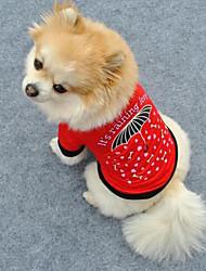Cute Little Umbrella Pattern Pet T-Shirt