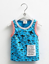 2016 New Arrival Tank Top For Kids Solid 100% Cotton Children's Clothes Sleeveless Tanks Brand Vest For Children