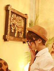 Women Straw Bow Fedora Hat,Cute / Party / Casual Spring / Summer / Fall