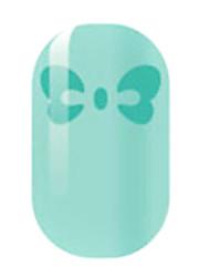 зеленые полые наклейки для ногтей