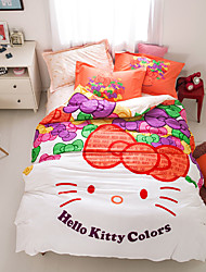 Hot sell 100% Cotton Bedding Set print duvet cover Sets  Queen/Double/Full Size