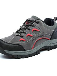 Men's Hiking Shoes Leather / Running Shoes Leather / Upstream shoes / Water Shoes/ Tulle Gray / Brown