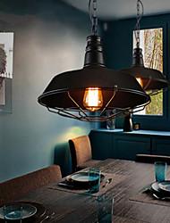The New European Style Chandelier Simple Retro Industrial Wind Loft Warehouse Restaurant Bar Single Head Tieyi Lighting
