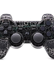 sixaxis dualshock3 joystick sem fio Bluetooth recarregável gamepad controlador para ps3