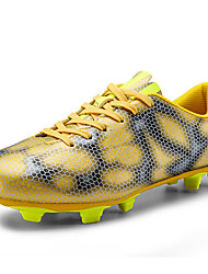 Men's Shoes Synthetic Athletic Shoes Soccer Lacing Green / Gold / Silver / Red