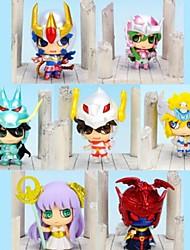 Cavaleiros do Zodíaco Outros 6CM Figuras de Ação Anime modelo Brinquedos boneca Toy