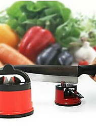 Household Kitchen With Sucker Knife Tools Knife Grinder Stone Chuck Positioning Sharpener Random Color