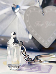 baby bottle key chain favors
