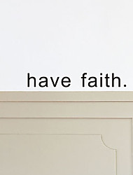 Parole e citazioni / Forma / Astratto Adesivi murali Adesivi aereo da parete,PVC W45cm x L6.5cm