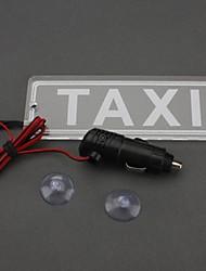 ziqiao 12v прикуривателя всасывания водить такси знак света такси лицензии индикатор верхней лампы освещения такси пластины