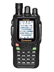 WOUXUN KG-UV8D PLUS Walkie Talkie VHF:5W/UHF:4W 999 400-470MHz / 136-174MHz 1700mAh 3 km -5kmFM Radio / Notruf / PC-Software