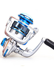 Mini Metal  Fishing Spinning Reel 10 Ball Bearings  Exchangable Handle-FF150
