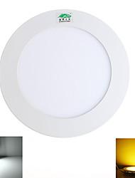 9W Потолочный светильник 45 SMD 2835 800 lumens lm Тёплый белый / Естественный белый Декоративная AC 85-265 V 1 шт.