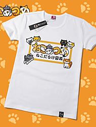Inspired by Neko Atsume Cotton T-shirt