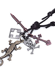 Men's Fashion Rope Vintage / Cute / Party / Work / Casual Alloy / Others Braided/Cord  Necklaces