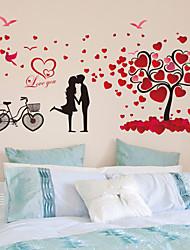 Romanticismo / Fashion Adesivi murali Adesivi aereo da parete,PVC 60*90cm(23.6*35.4 inch)