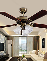 MAX60W Ventilador de teto ,  Contemprâneo Outros Característica for Designers MetalSala de Estar / Quarto / Sala de Jantar / Cozinha /